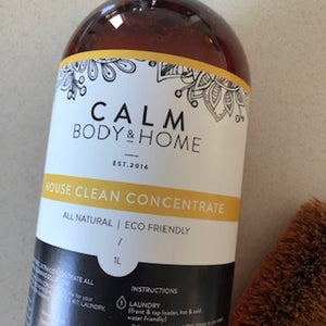 Calm Body & Home House Clean Concentrate Detergent