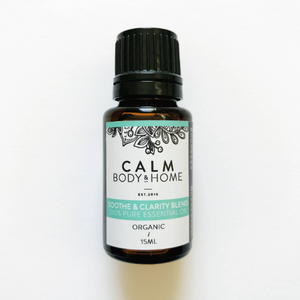 Calm Body & Home  Soothe and Clarity Blend