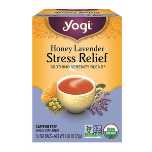 Yogi Tea - Stress Relief Tea Bags x16