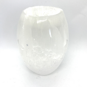 Selenite Crystal Votive