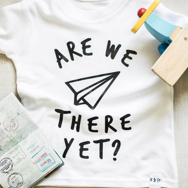 KIDULT & CO ARE WE THERE YET? UNISEX TEE