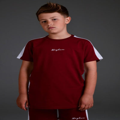Mayhem - Renz Burgundy Tee