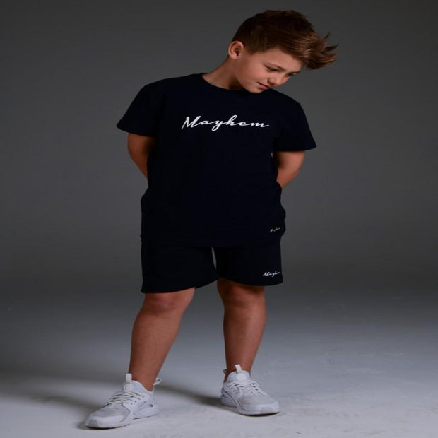 Mayhem - Rocco Signature Tee - Navy