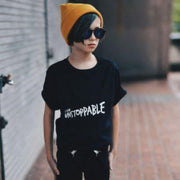 KIDULT & CO I AM UNSTOPPABLE UNISEX TEE