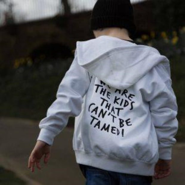 KIDULT & CO WE ARE THE KIDS THAT CAN'T BE TAMED UNISEX SWEAT & HOODIE