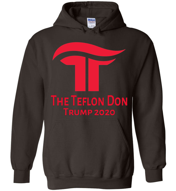 The Teflon Don 2020 Hoodie - Republican Red - The Trumptastic Shop