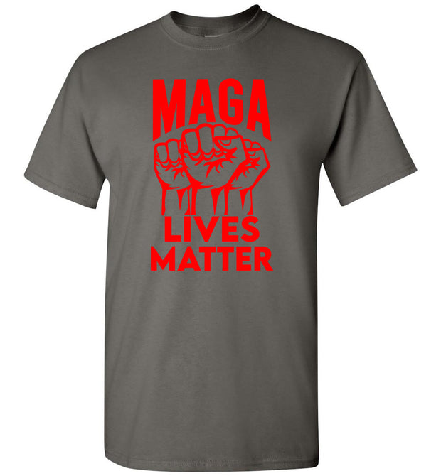 MAGA Lives Matter Tee - Red - The Trumptastic Shop