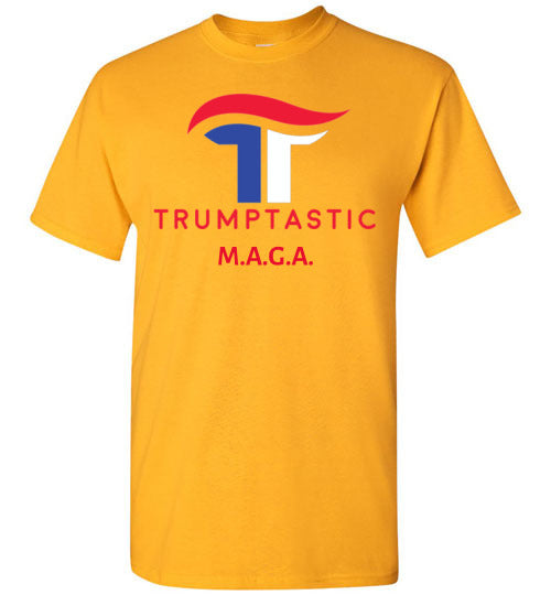Trumptastic MAGA Tee - Red, White and Blue Logo - The Trumptastic Shop