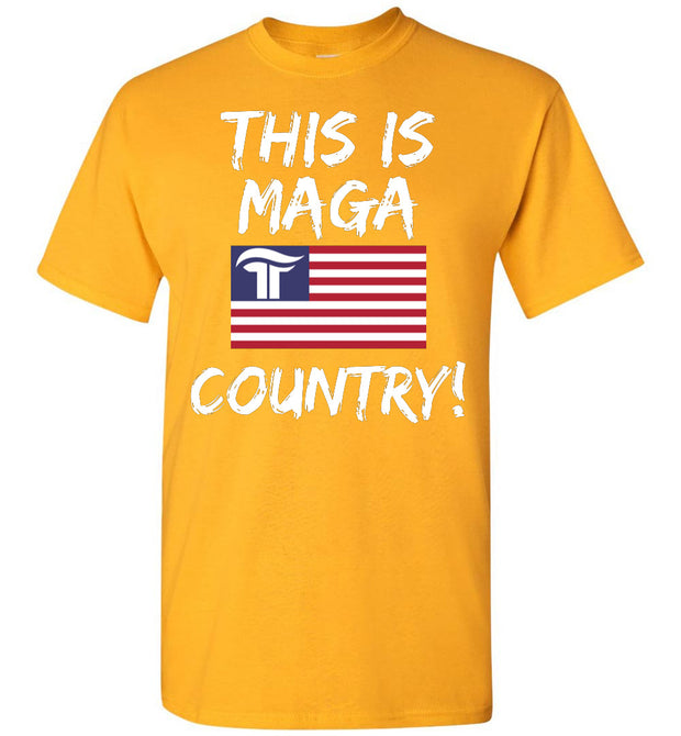 This Is MAGA Country Tee - The Trumptastic Shop