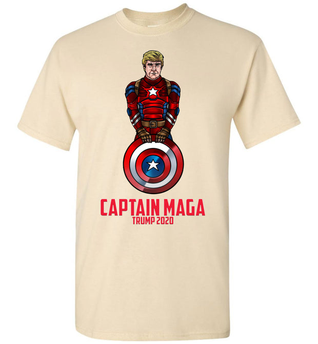 Cap MAGA Trump 2020 Tee - Red - The Trumptastic Shop