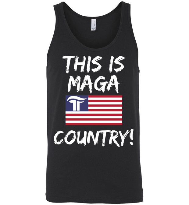 This Is MAGA Country Tank - The Trumptastic Shop