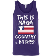 This Is MAGA Country Bitches Tank - The Trumptastic Shop