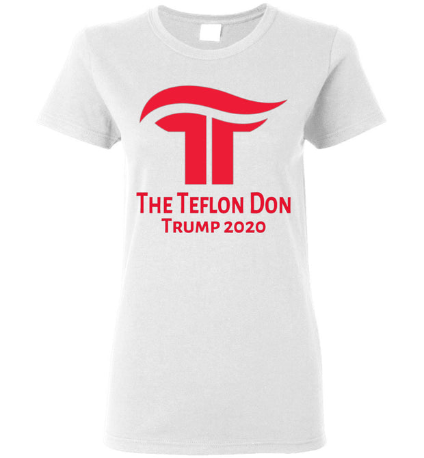 Women's The Teflon Don 2020 Tee - Republican Red - The Trumptastic Shop