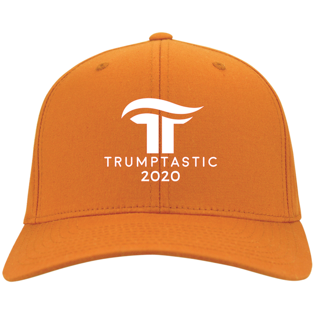 Trumptastic 2020 Embroidered Baseball Cap - White - The Trumptastic Shop