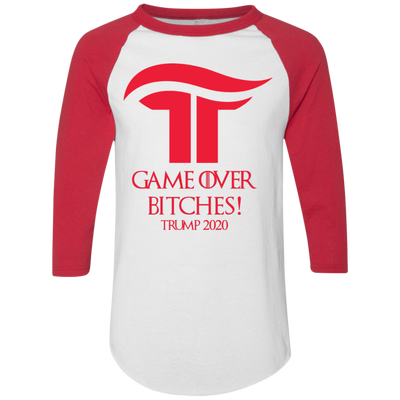 GOT Game Over Bitches Trump 2020 Baseball Tee - The Trumptastic Shop