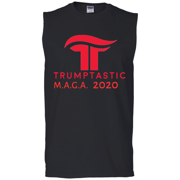 Trumptastic MAGA 2020 Muscle Tank - Republican Red - The Trumptastic Shop