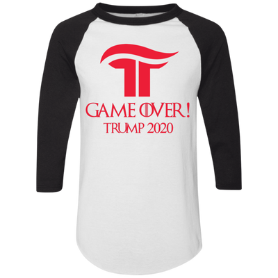GOT Game Over Trump 2020 Baseball Tee - The Trumptastic Shop