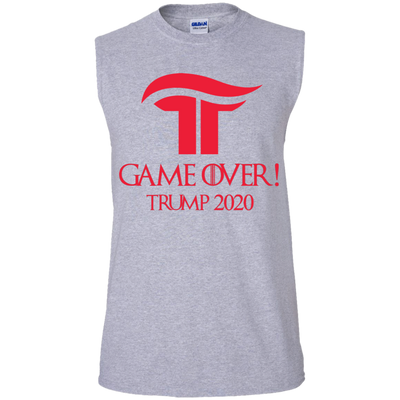 GOT Game Over Trump 2020 Muscle Tank - Republican Red - The Trumptastic Shop
