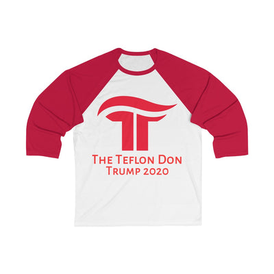The Teflon Don Baseball Tee - Republican Red - The Trumptastic Shop