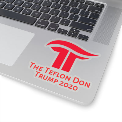 The Teflon Don Trump 2020 Kiss-Cut Stickers - The Trumptastic Shop
