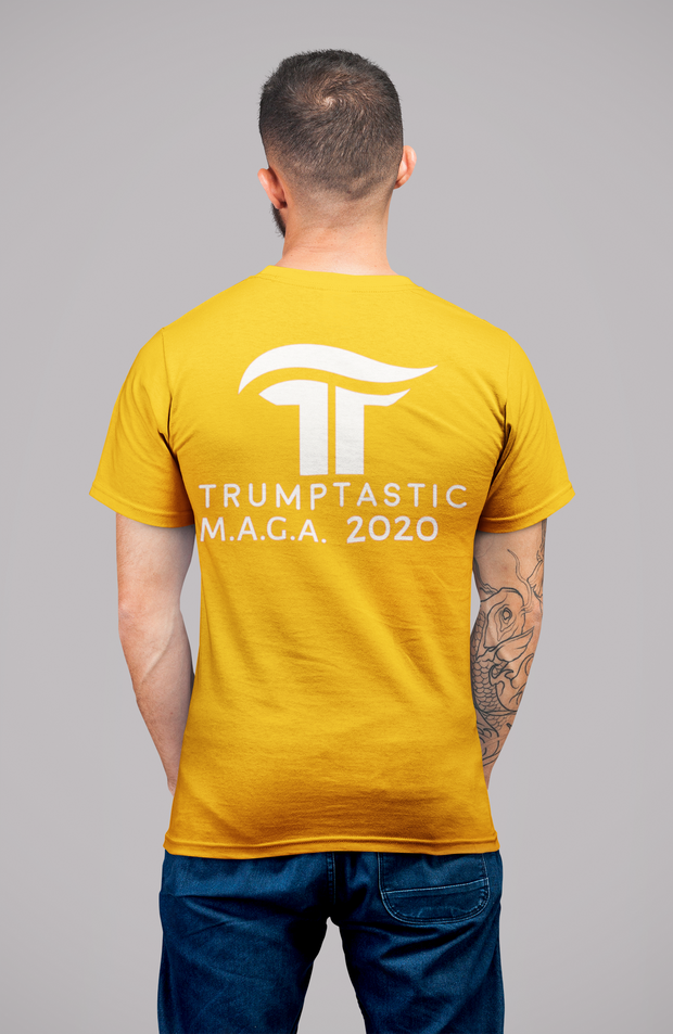 Reverse Trumptasic MAGA 2020 Tee - White - The Trumptastic Shop