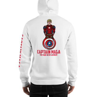 Cap MAGA The Fake News Avenger Hoodie - The Trumptastic Shop