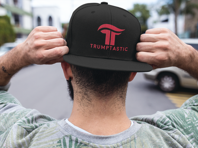 Trumptastic Embroidered Baseball Cap - Republican Red - The Trumptastic Shop