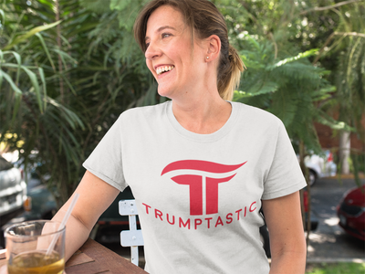 Women's Trumptastic Tee - Republican Red Logo - The Trumptastic Shop