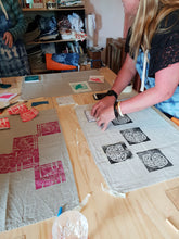 Load image into Gallery viewer, Workshop in Hobart- Sunday 24th February- Block printing on fabric