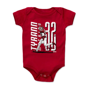 Tyrann Mathieu Kids Baby Onesie | 500 LEVEL