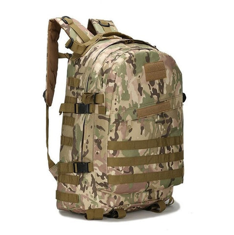 55L 3D Outdoor Sport Military Tactical climbing mountaineering Backpack Camping Hiking Trekking Rucksack Travel outdoor Bag - Self Defense T-shirts & Accessories