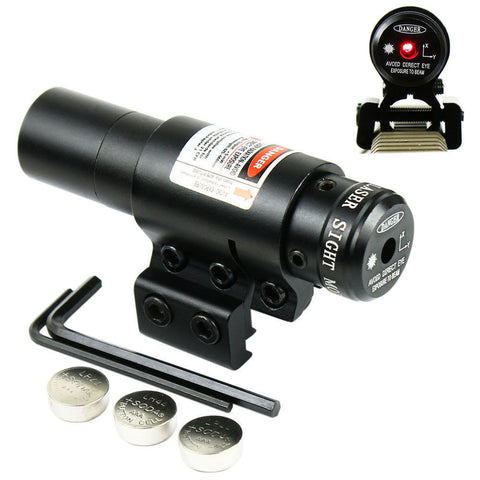 Hot Sale Crossbow 650nm Red Laser Sight W/Scope Cliper Mount For Bow/Rifle - Self Defense T-shirts & Accessories
