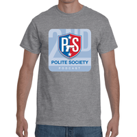 Polite Society Podcast T-Shirt - Self Defense T-shirts & Accessories
