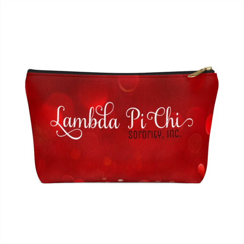 Lambda Pi Chi Accessory Pouch with T-bottom