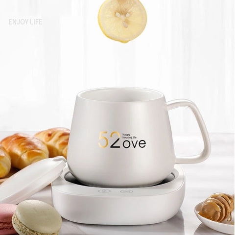Multifunction Heating Cup with Automatic Magnetic Stirring