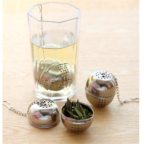 Fancy Stainless Steel Ball Tea Strainer (1 PC)