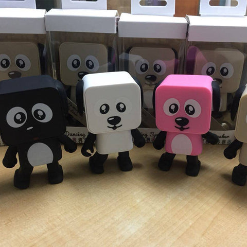 Cute Bluetooth Portable Dancing Dog Speaker