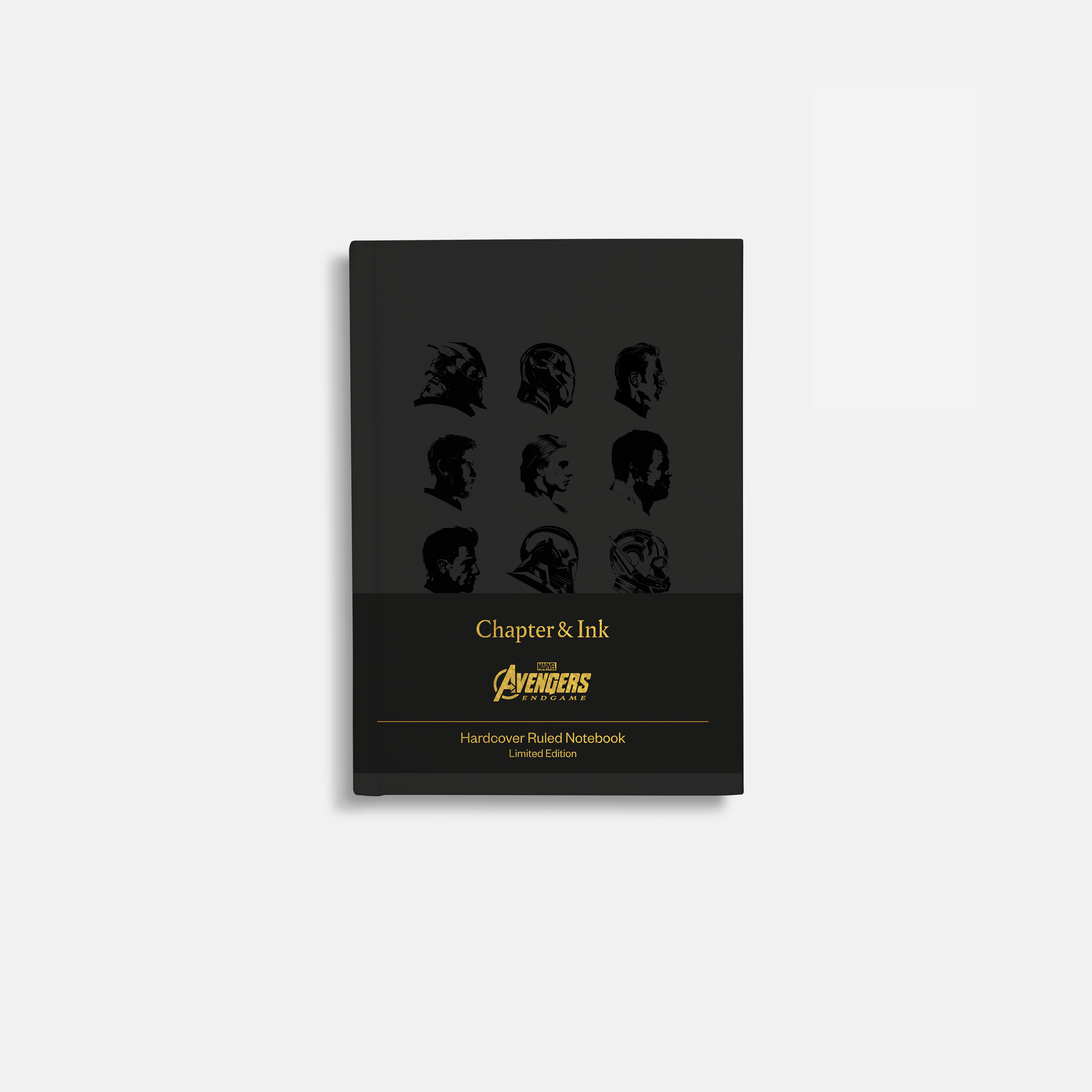 Avengers Stealth Black Notebook