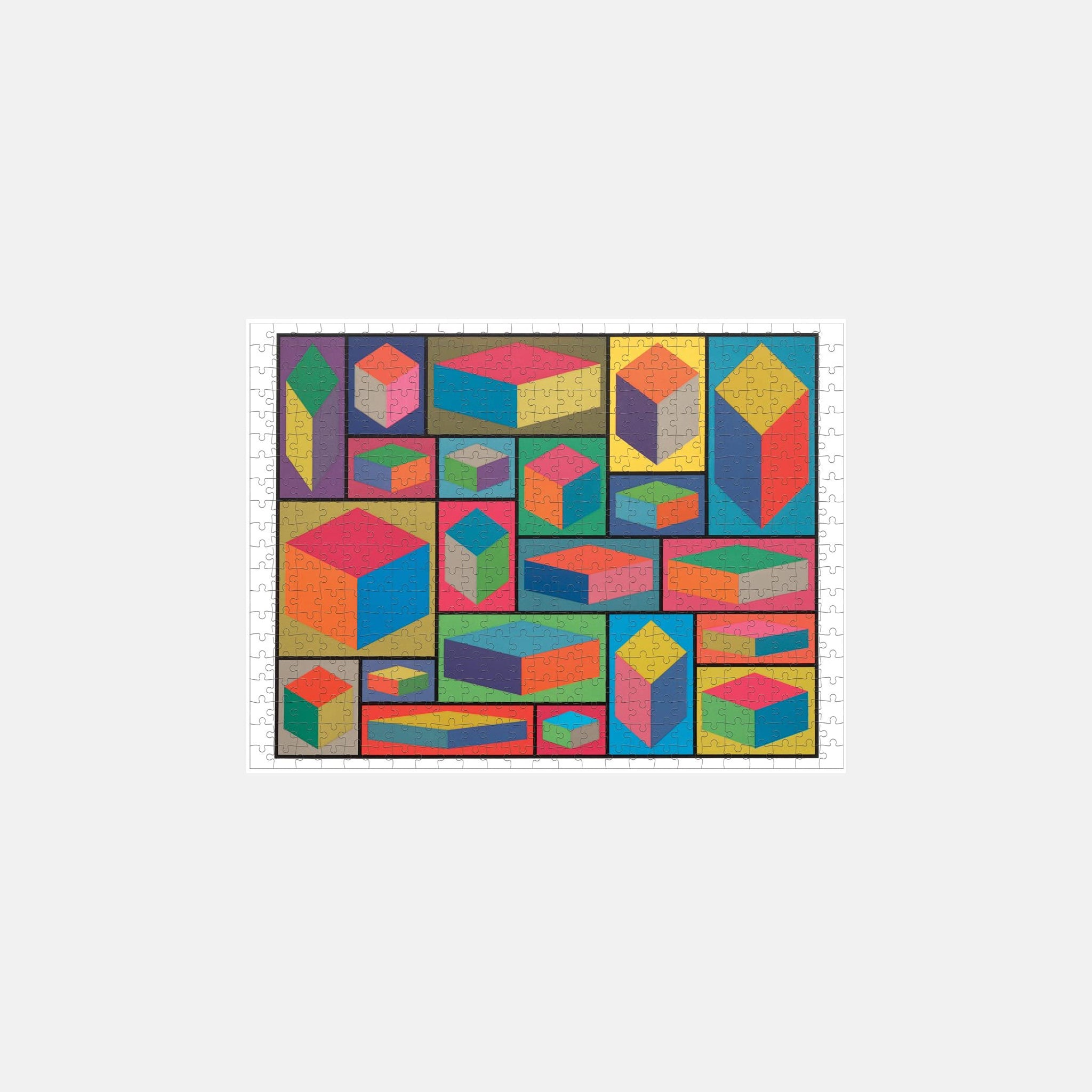 Sol Lewitt Double Sided Puzzle