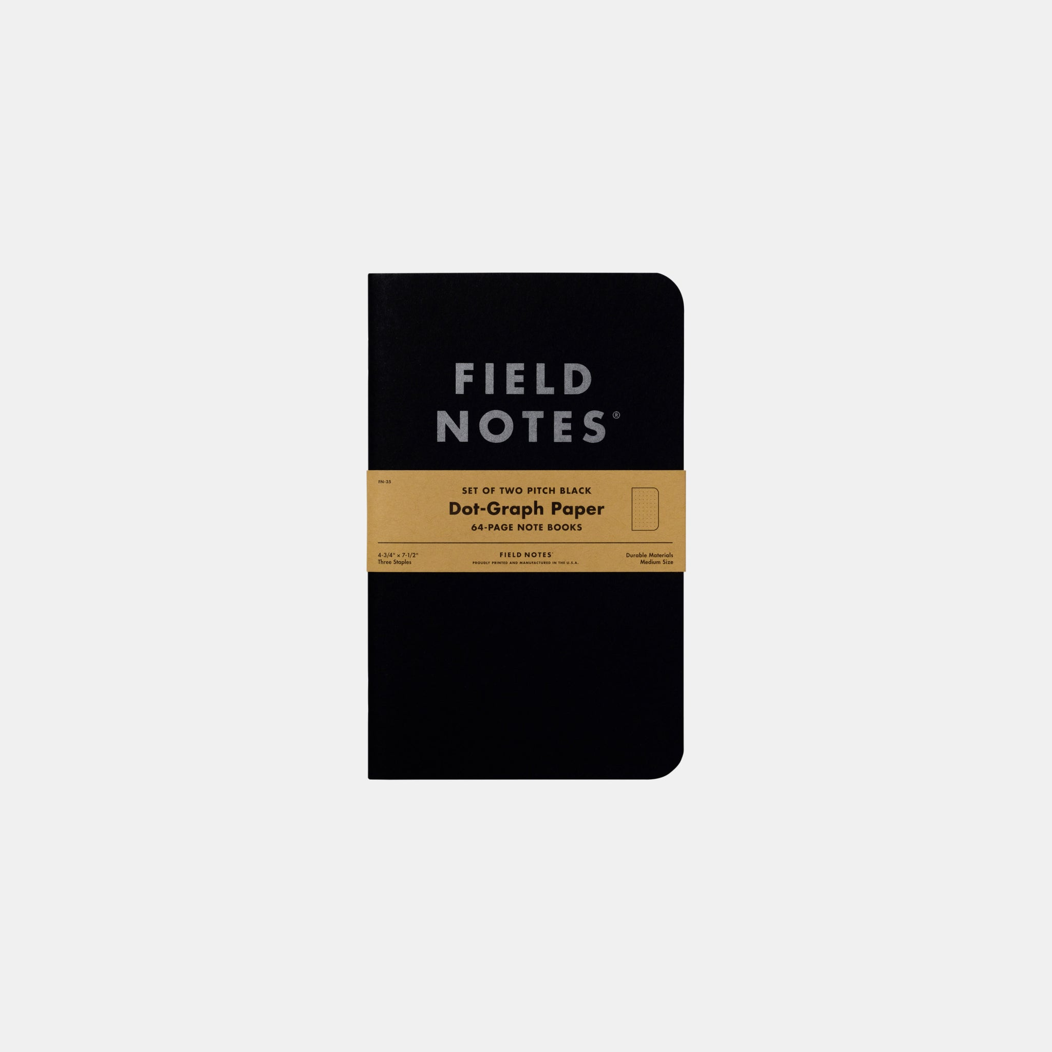 Pitch Black Notebook