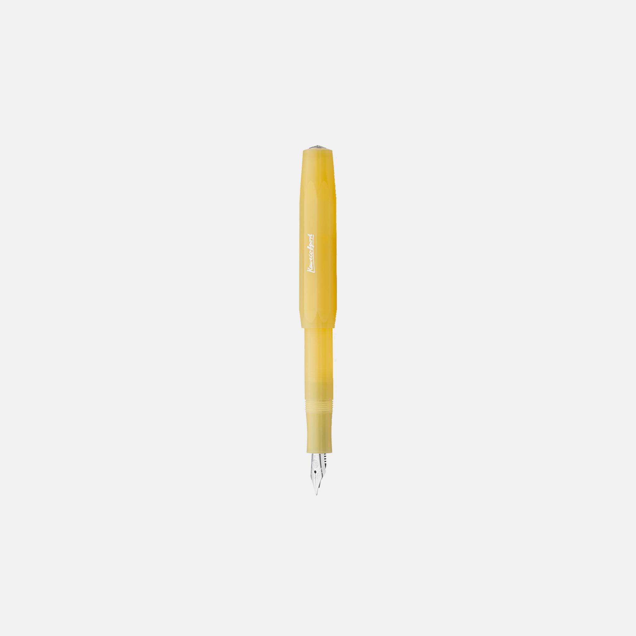Frosted Yellow Fountain Pen
