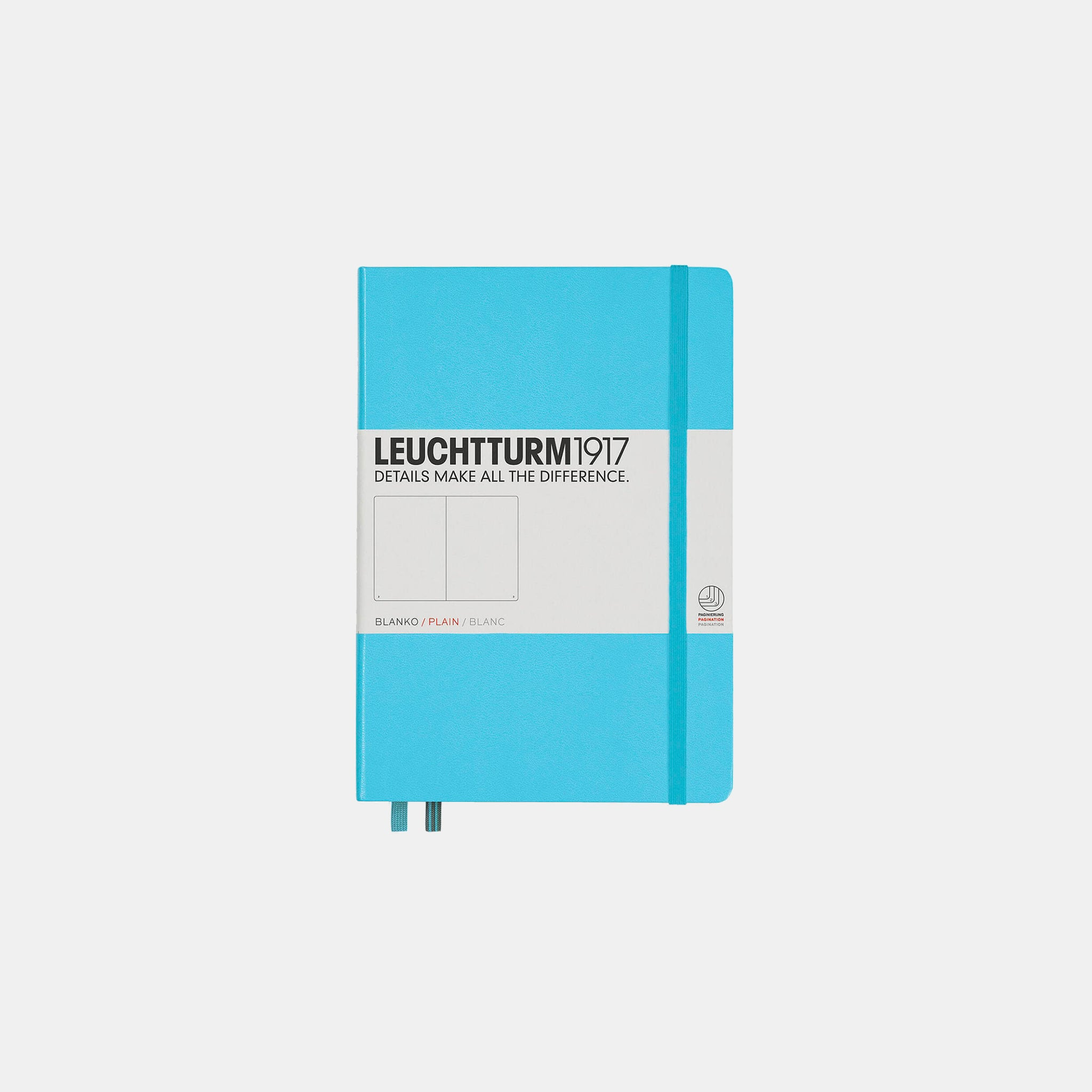 Ice Blue Medium Notebook