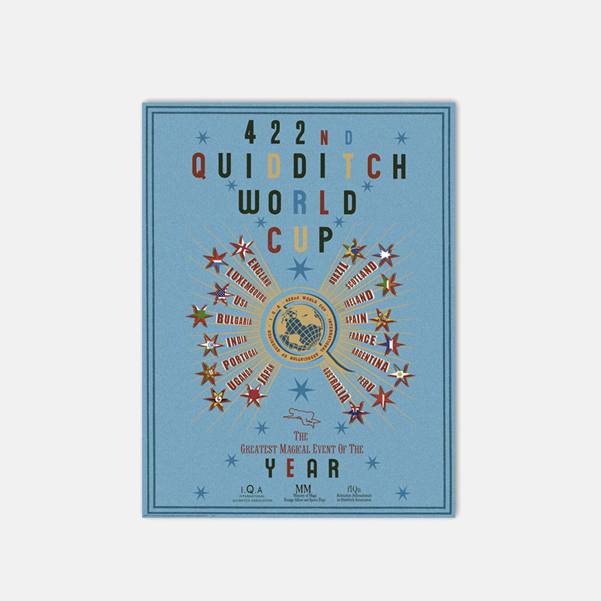 Quidditch World Cup Print