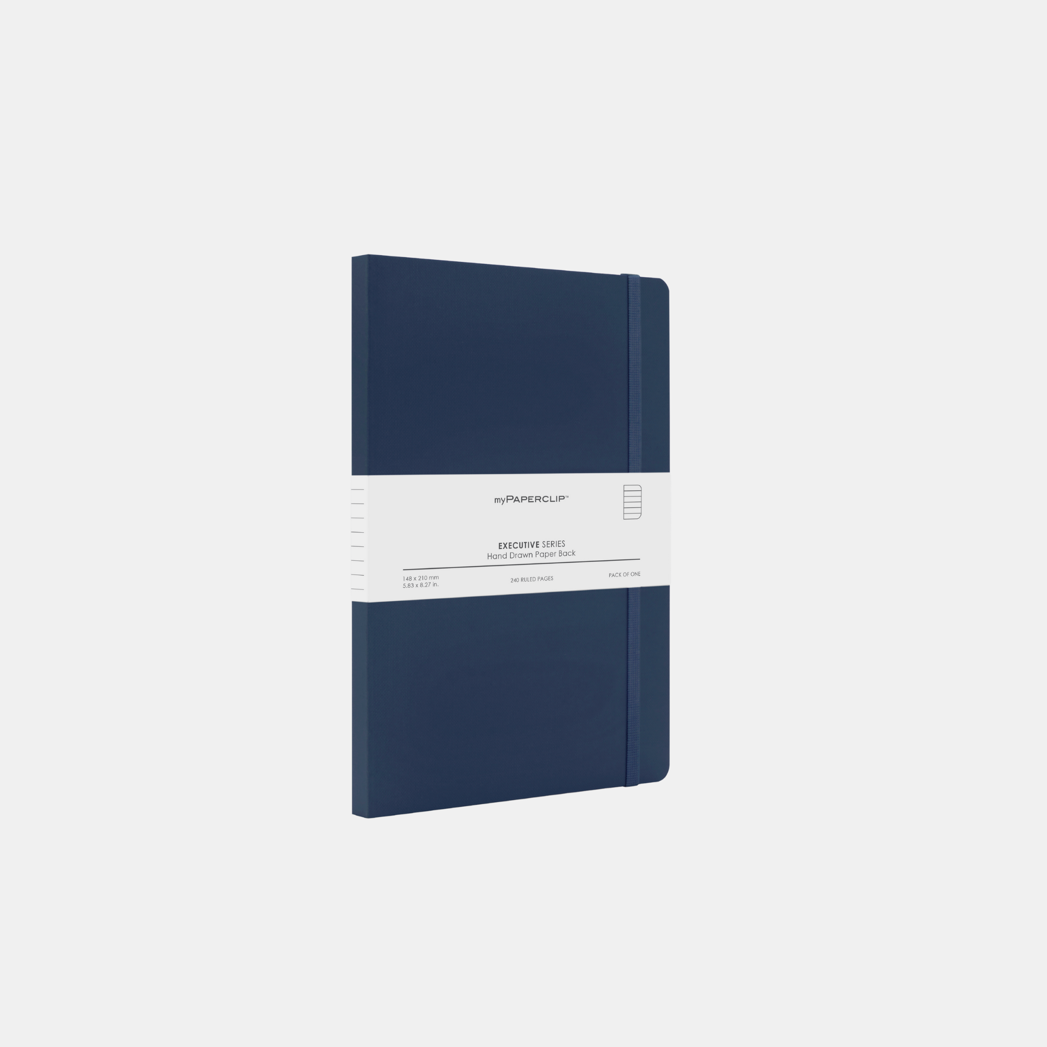 Blue Softcover Notebook