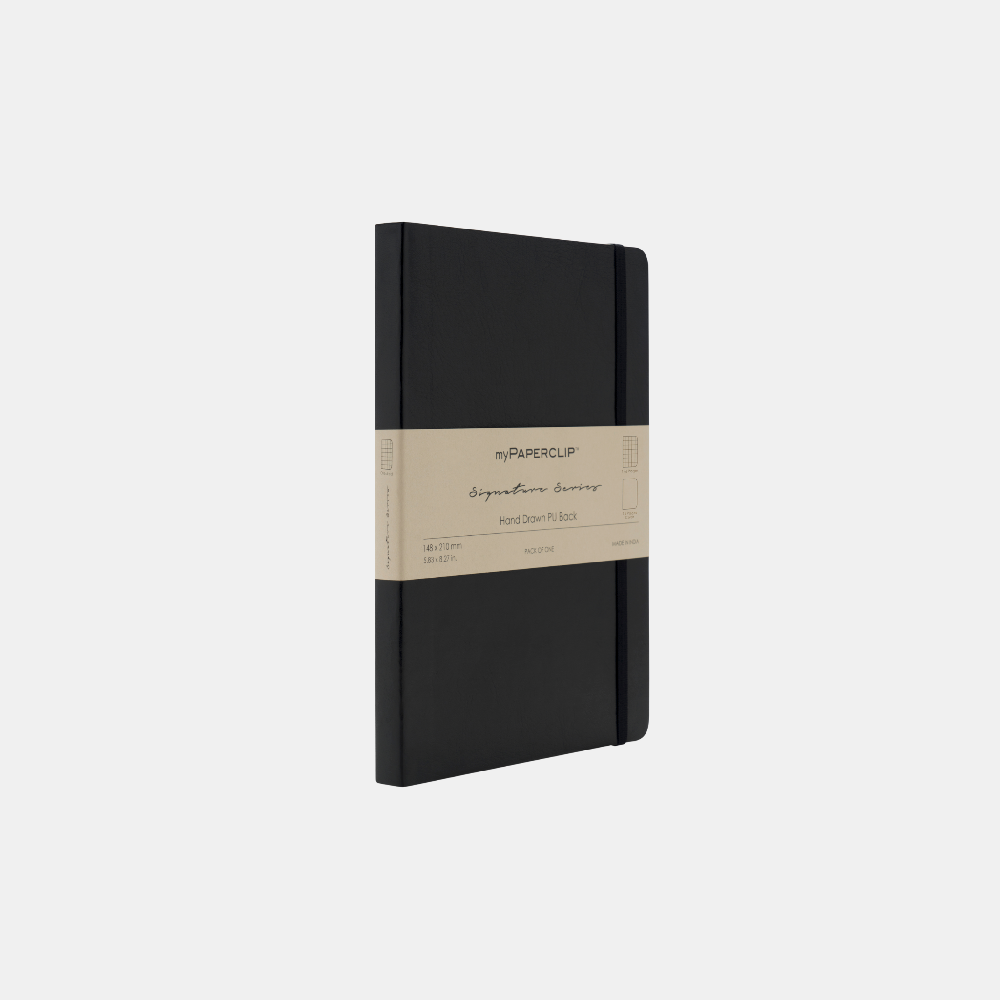 Black Signature Mixed Notebook
