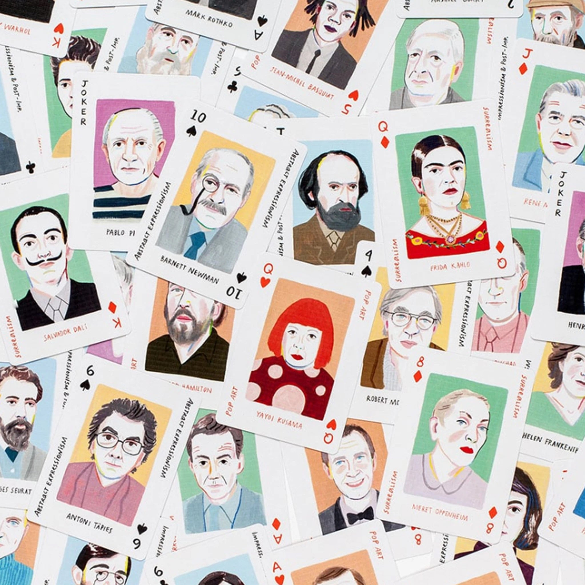Genius Art Playing Cards