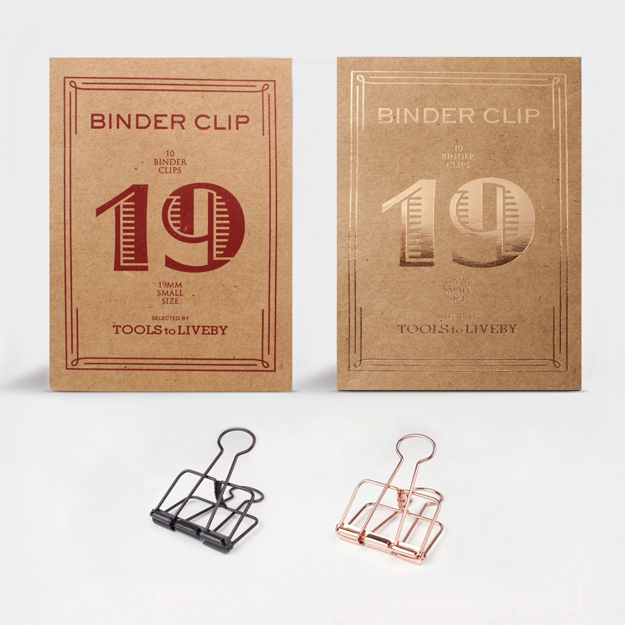 Binder Clips — Small