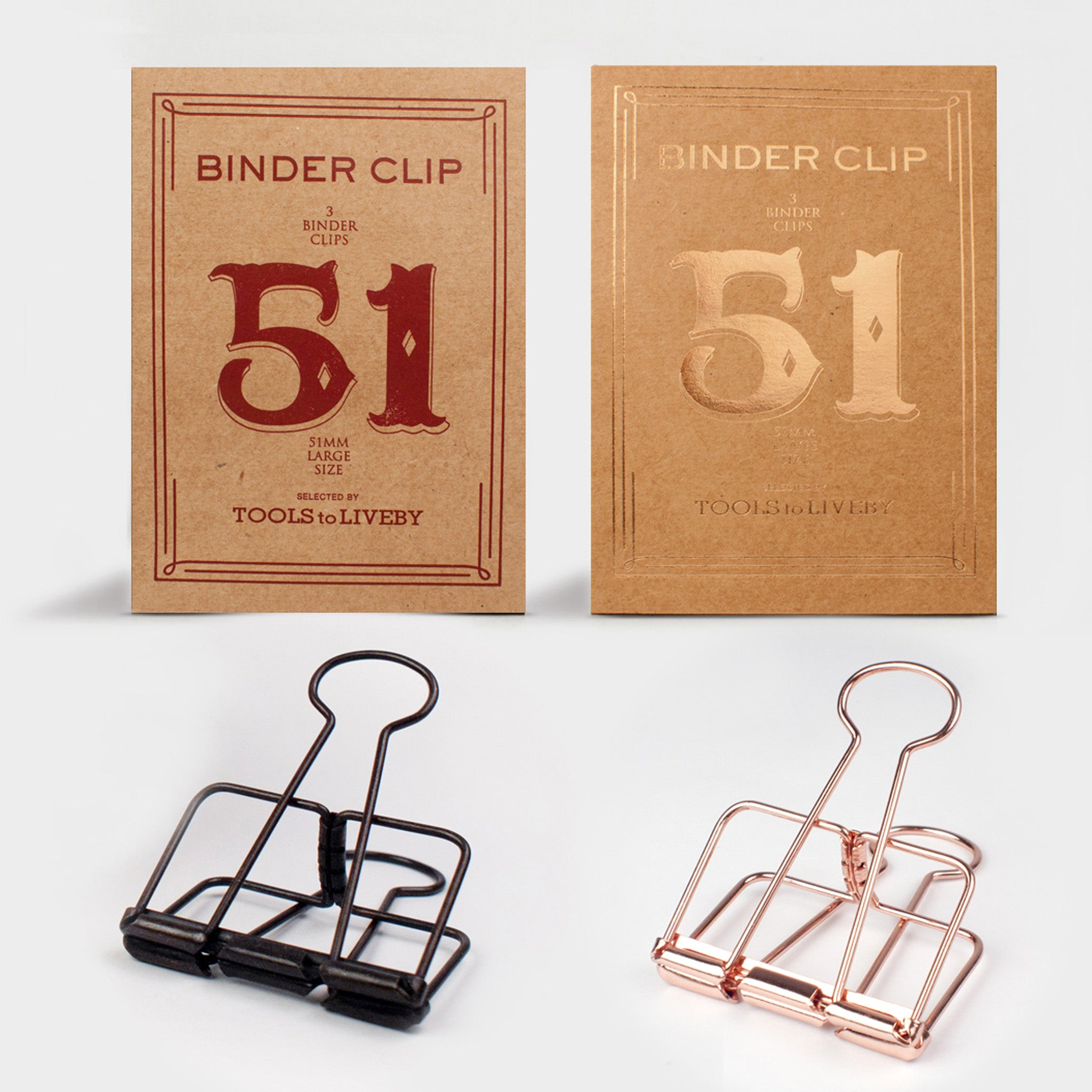 Binder Clips — Large