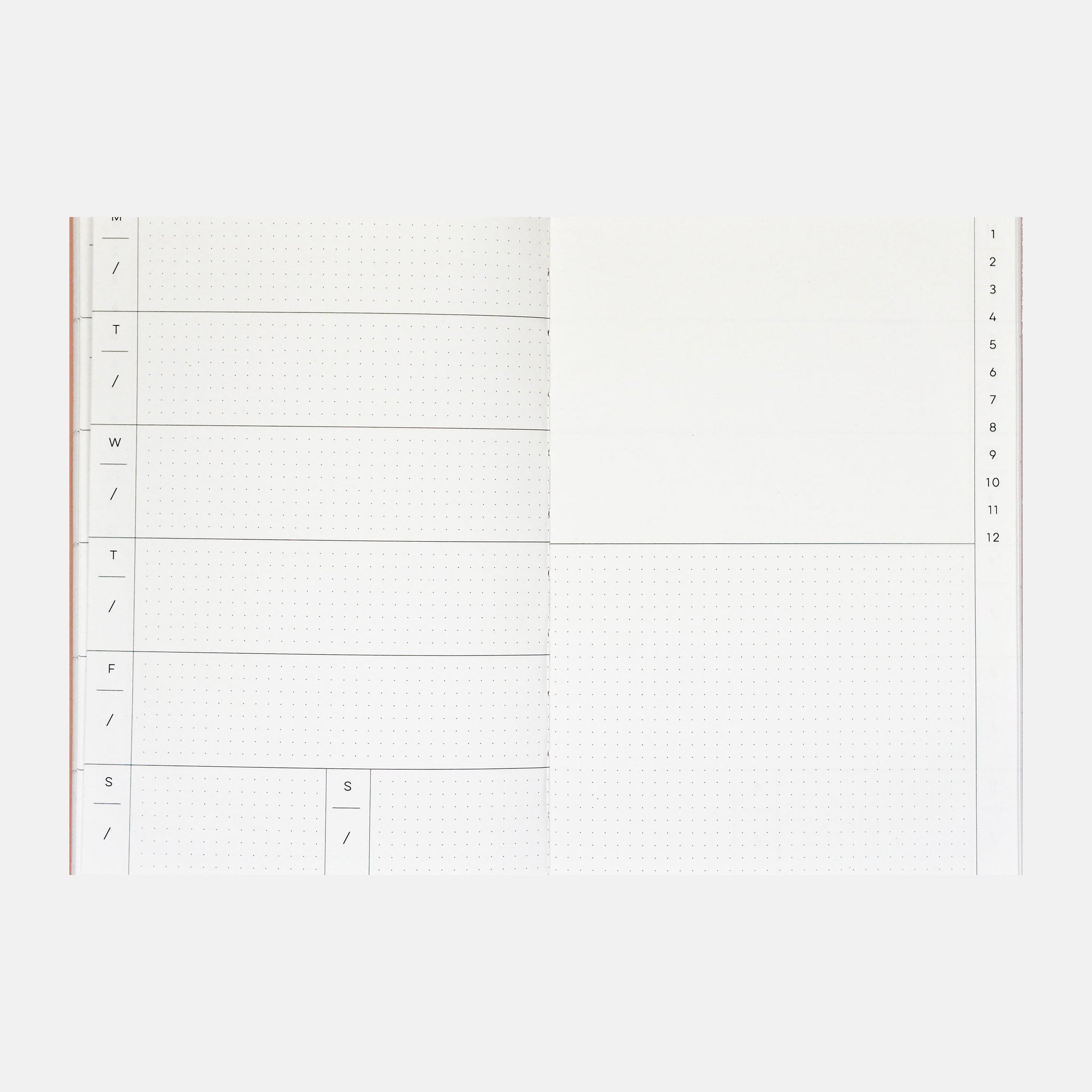 Bookends Weekly Planner (Undated)