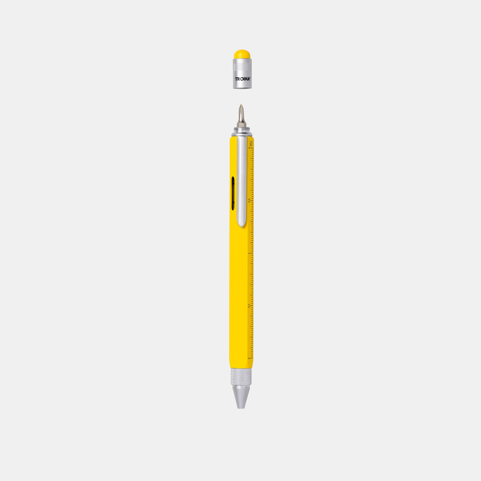 Yellow Multi-Tool Construction Pen